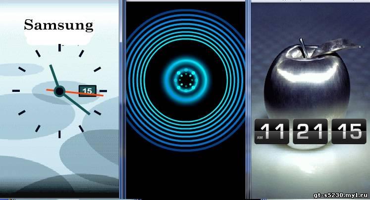 Богатая цветовая палитра поможет вам настроить часы практический под любой цвет фона.